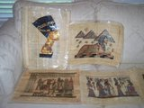 Egyptian Papyrus Paintings in Conroe, Texas