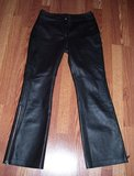 Ladies Black Leather Harley Davidson Size 8 Pants in Quantico, Virginia