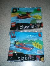 Lego Classic Building Sets #2 and #8 NEW SEALED in Naperville, Illinois