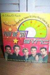 NSYNC Collectible CD Card in Kingwood, Texas