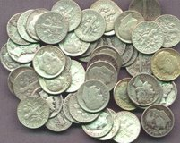 I am Paying 10X Face Value for Silver Coins in Cherry Point, North Carolina