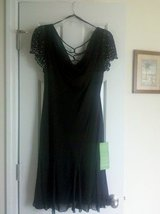 Black Semi Formal / Social Dress (short)  - Size 12 NEW w/ TAGS in Camp Lejeune, North Carolina