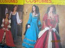 McCalls  Queen/Courtesan? Costume patterns in Fort Lewis, Washington