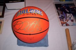 Basketball Signed By Karl Malone in Bolingbrook, Illinois
