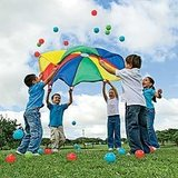 Parachute for Birthday Parties in Kingwood, Texas